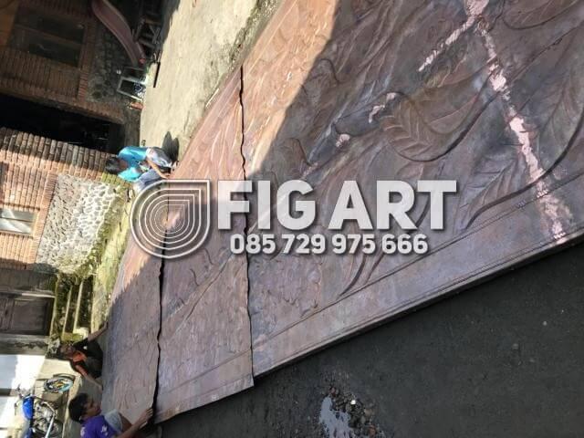 Hiasan Dinding Tembaga Terbesar Di Jogja