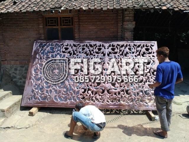 wall decor tembaga