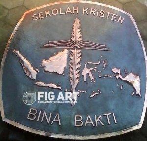 Logo Tembaga Sekolah Kristen Bina Bakti