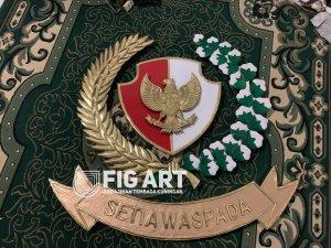Logo Kuningan Paspampres Warna