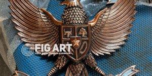 Garuda Tembaga 3D